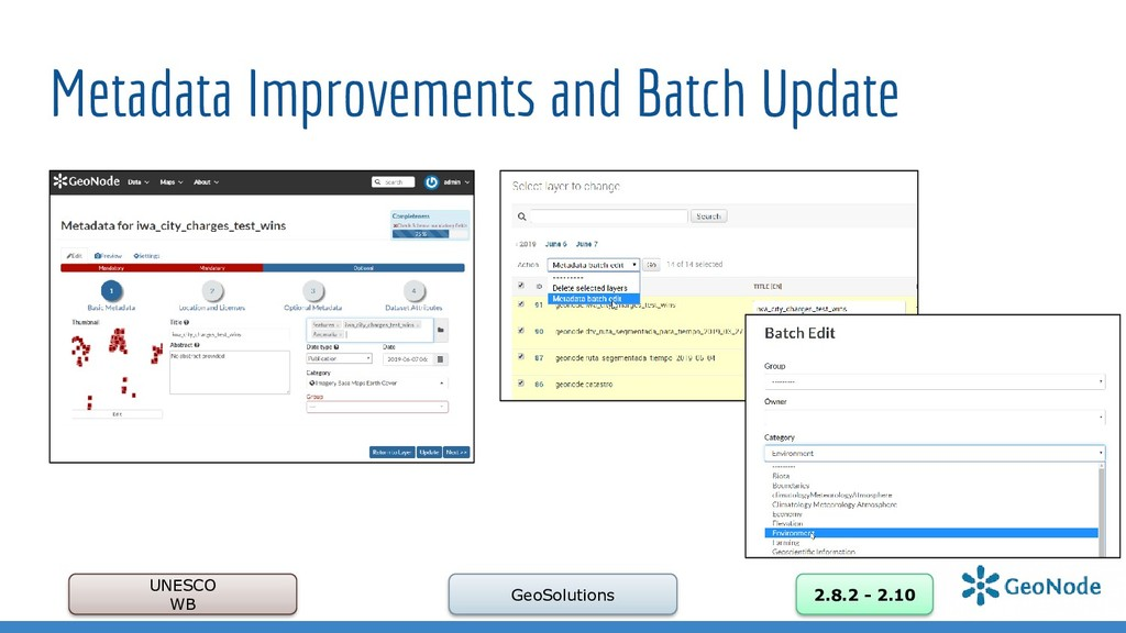 Metadata Improvements and Batch Update UNESCO W...