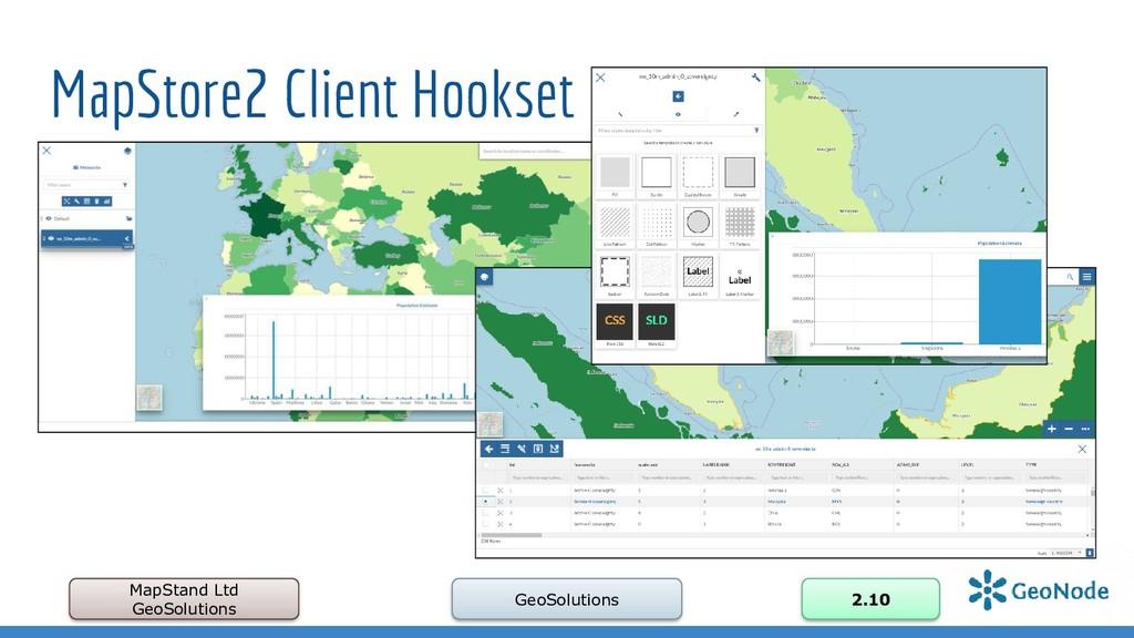 MapStore2 Client Hookset MapStand Ltd GeoSoluti...