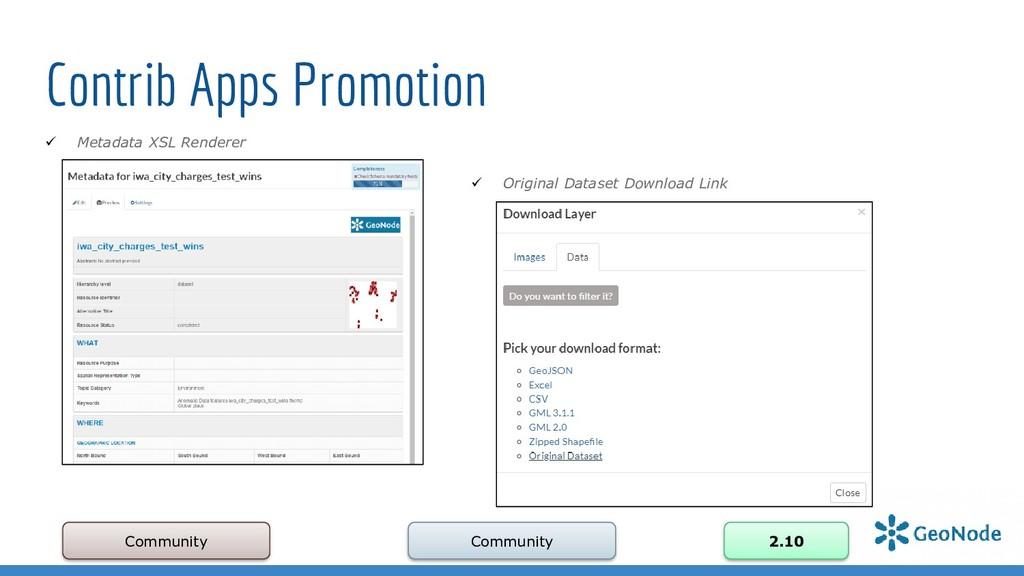 Contrib Apps Promotion Community Community 2.10...