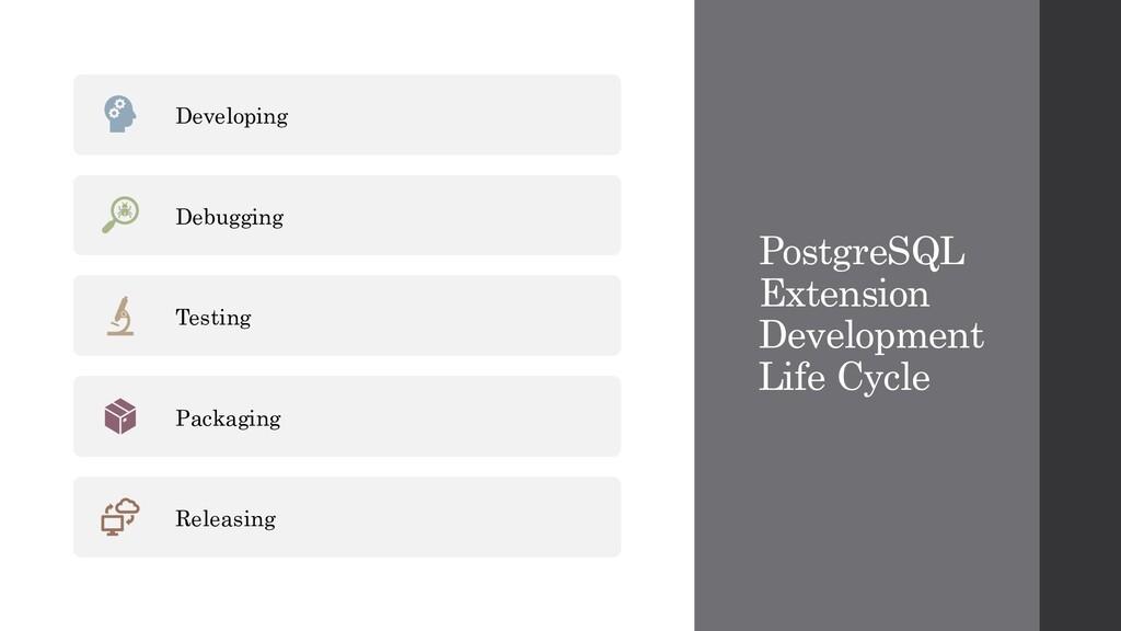 PostgreSQL Extension Development Life Cycle Dev...