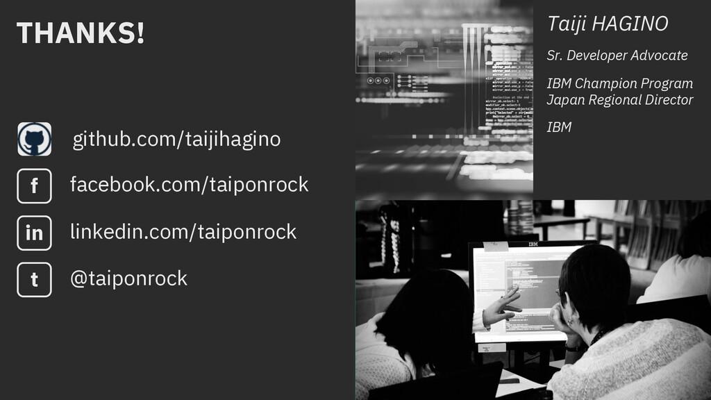 Thank you github.com/taijihagino Taiji HAGINO S...