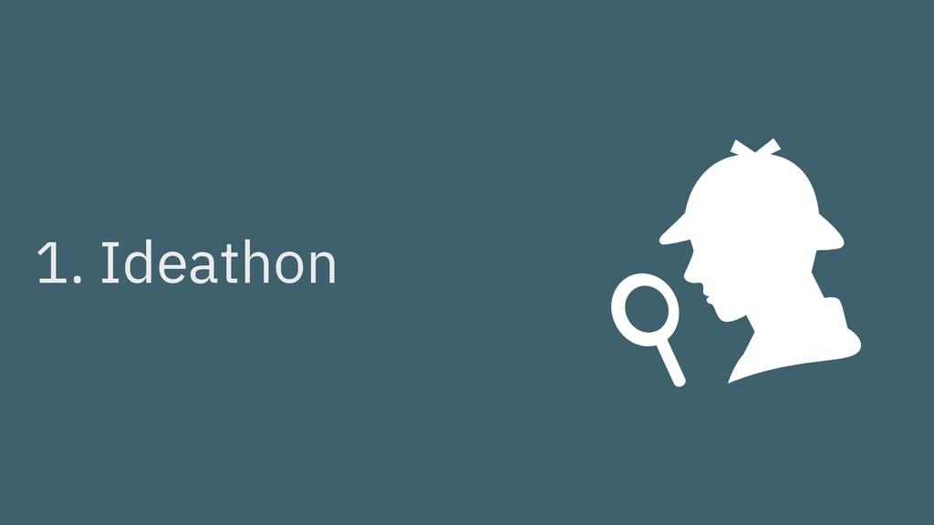 1. Ideathon