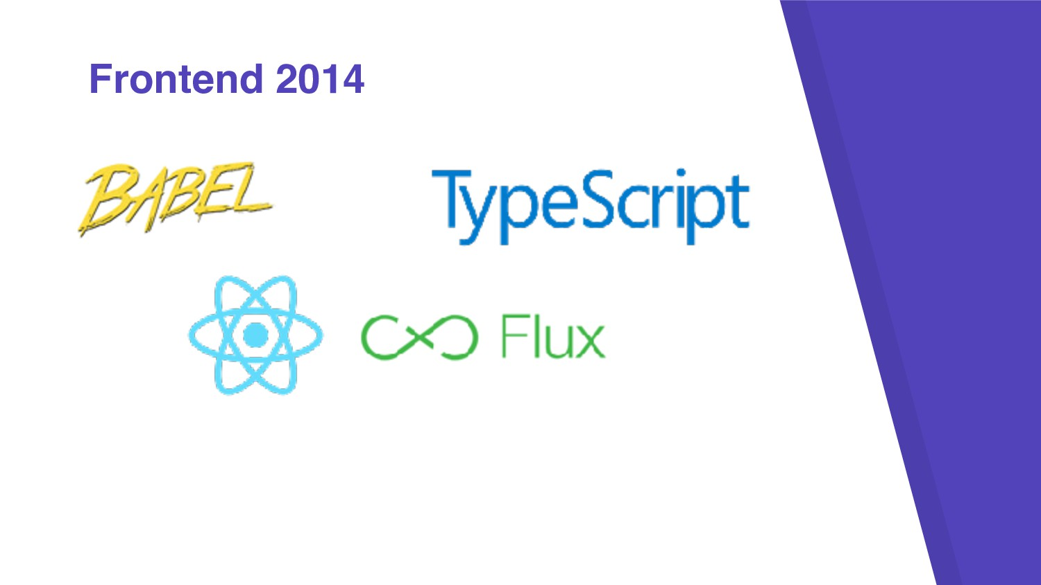 Frontend 2014