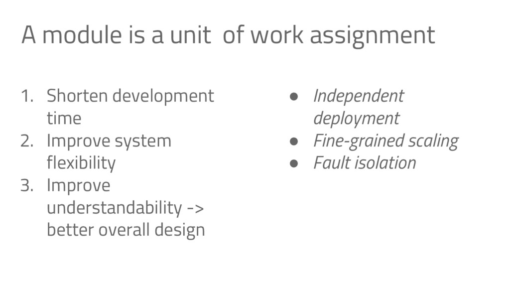 A module is a unit of work assignment 1. Shorte...