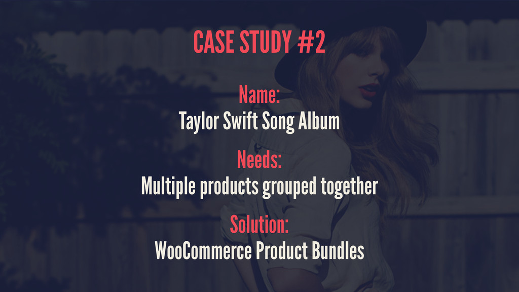 CASE STUDY #2 Name: Taylor Swift Song Album Nee...