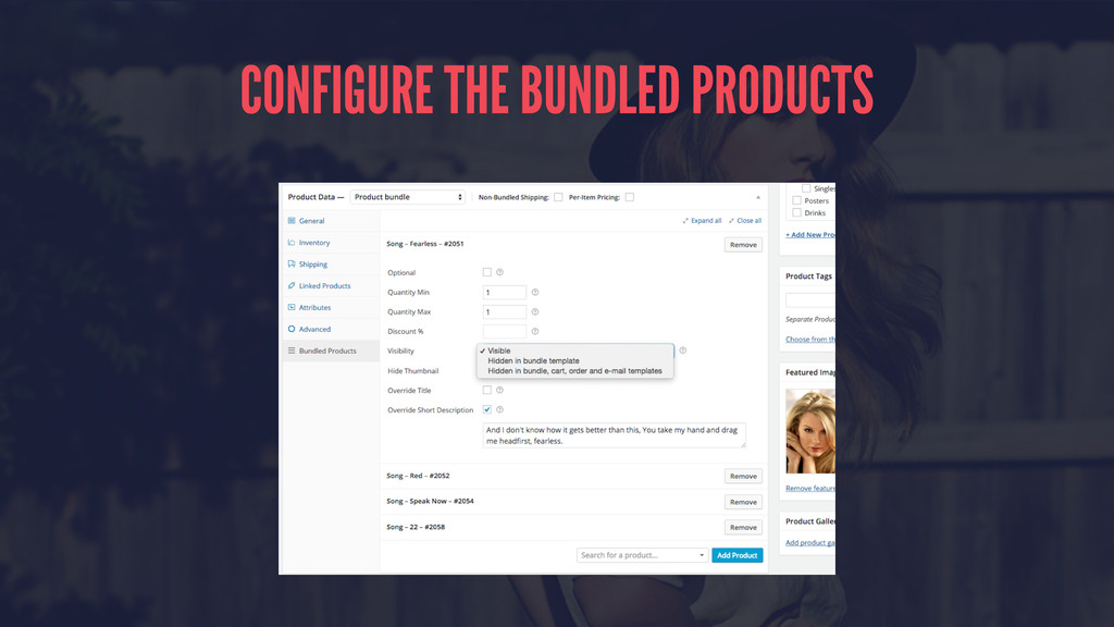 CONFIGURE THE BUNDLED PRODUCTS