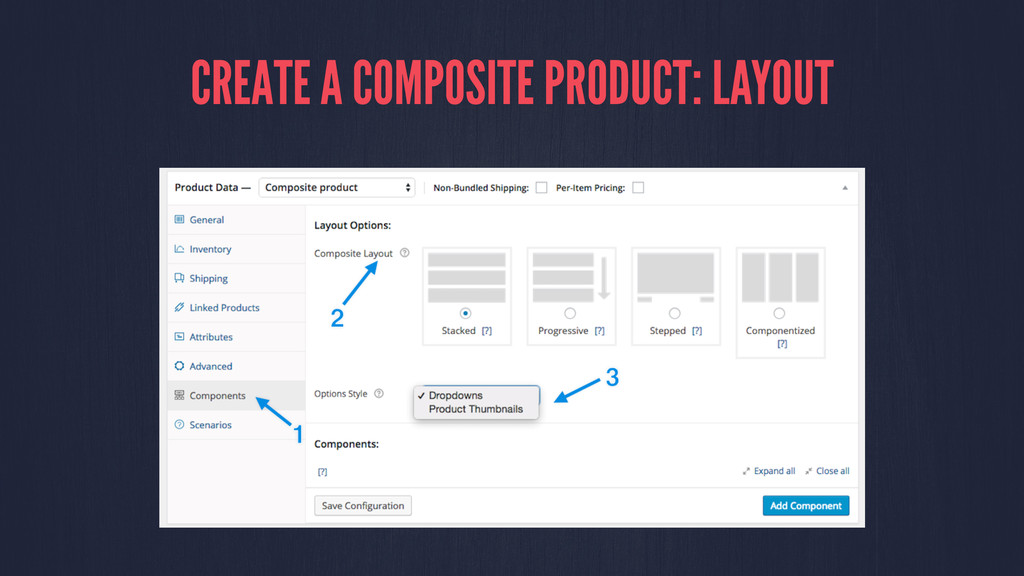 CREATE A COMPOSITE PRODUCT: LAYOUT