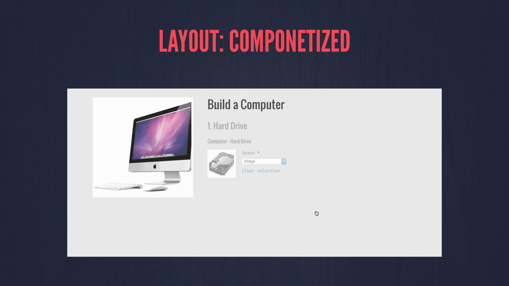LAYOUT: COMPONETIZED