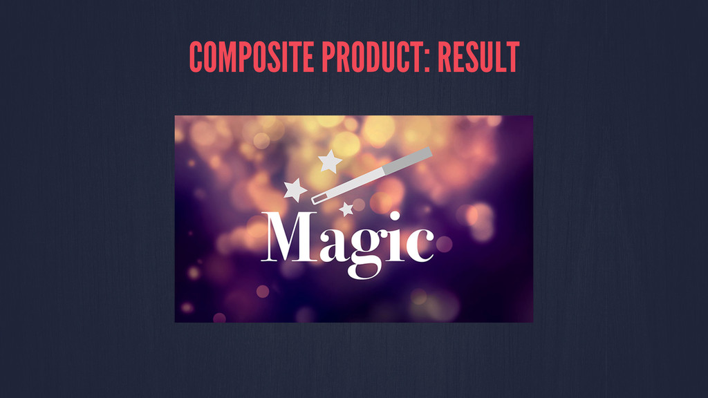COMPOSITE PRODUCT: RESULT