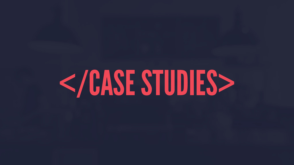 </CASE STUDIES>