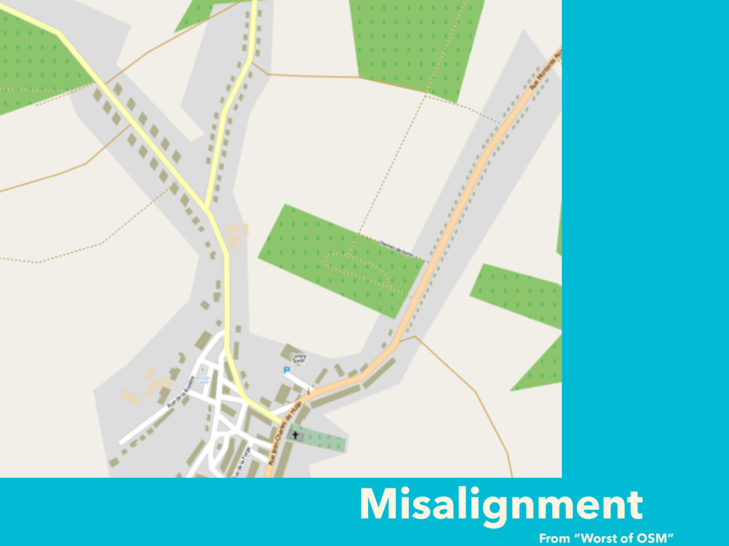 """Misalignment From """"Worst of OSM"""""""