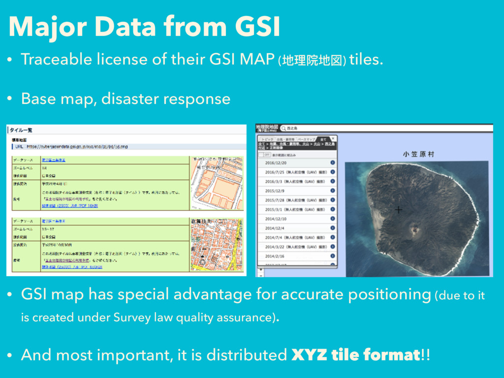 Major Data from GSI • Traceable license of thei...