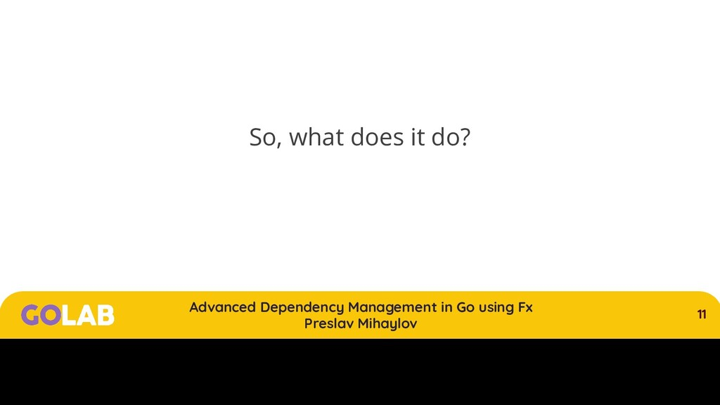 11 Advanced Dependency Management in Go using F...