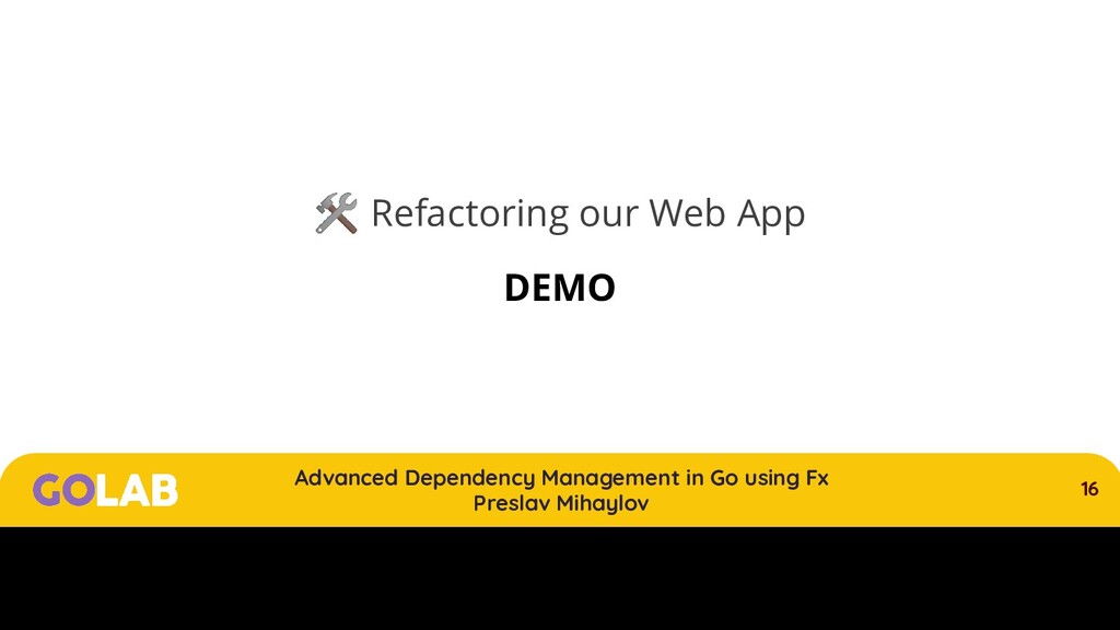 16 Advanced Dependency Management in Go using F...
