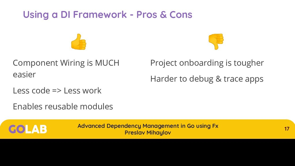 17 Advanced Dependency Management in Go using F...