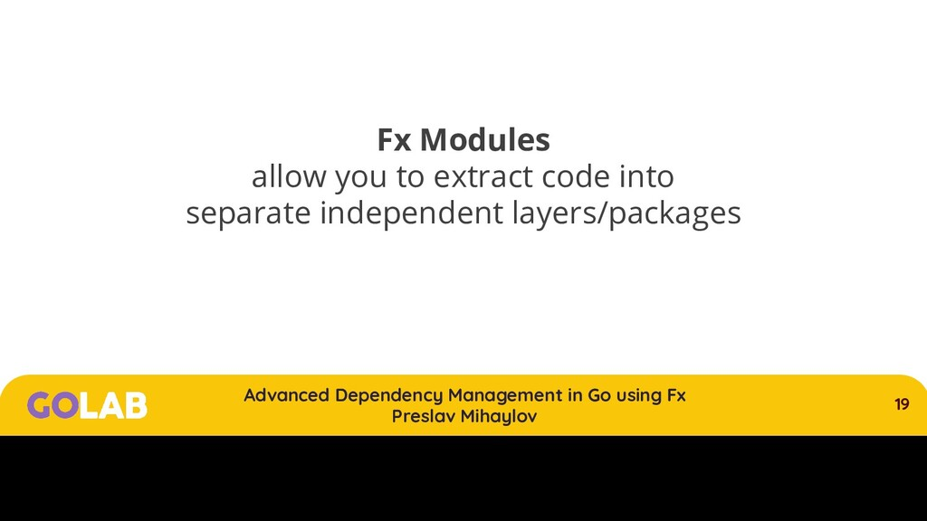 19 Advanced Dependency Management in Go using F...
