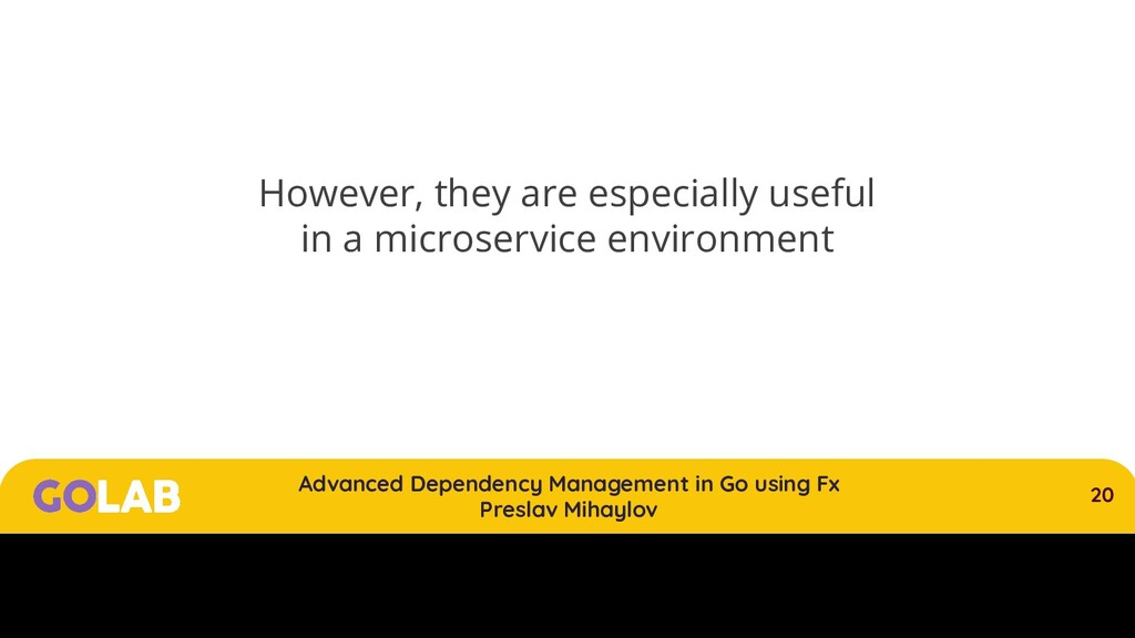 20 Advanced Dependency Management in Go using F...