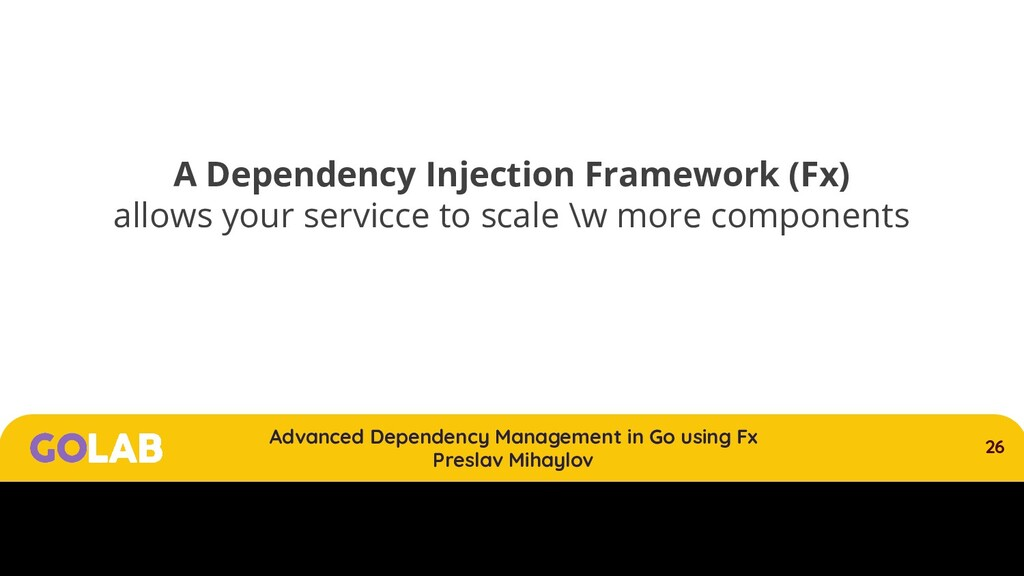 26 Advanced Dependency Management in Go using F...