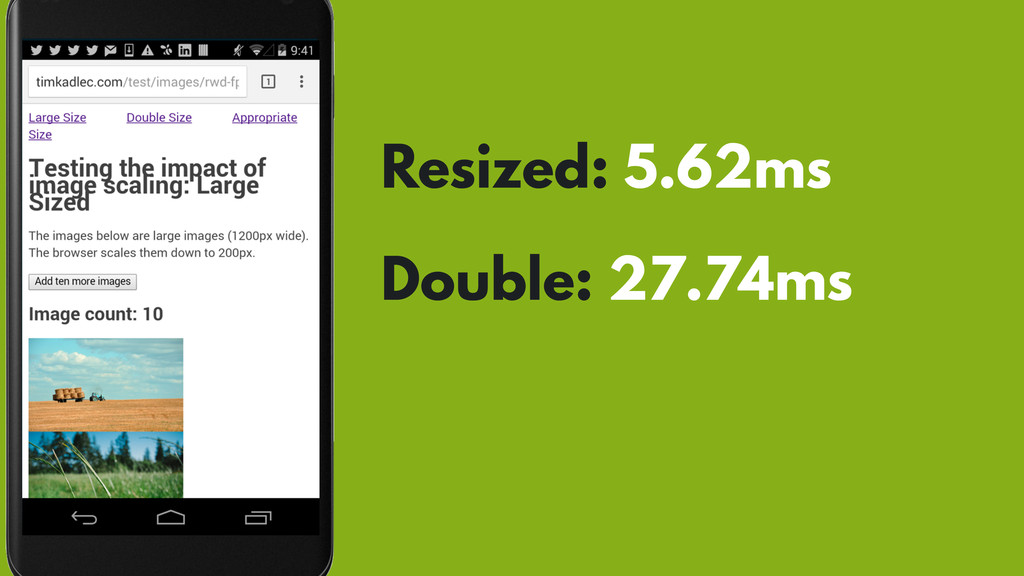 Resized: 5.62ms Double: 27.74ms