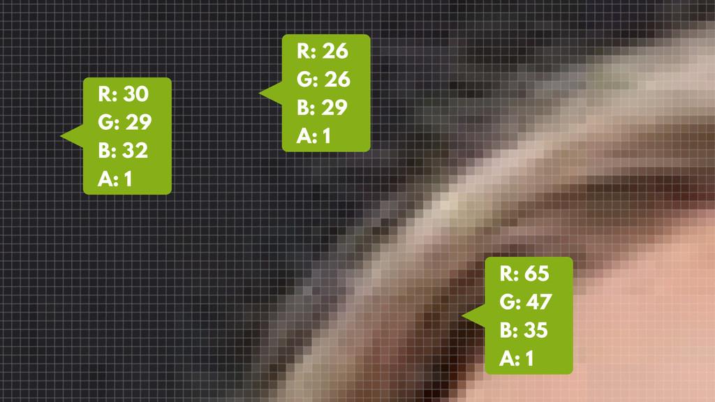 R: 65 G: 47 B: 35 A: 1 R: 26 G: 26 B: 29 A: 1 R...