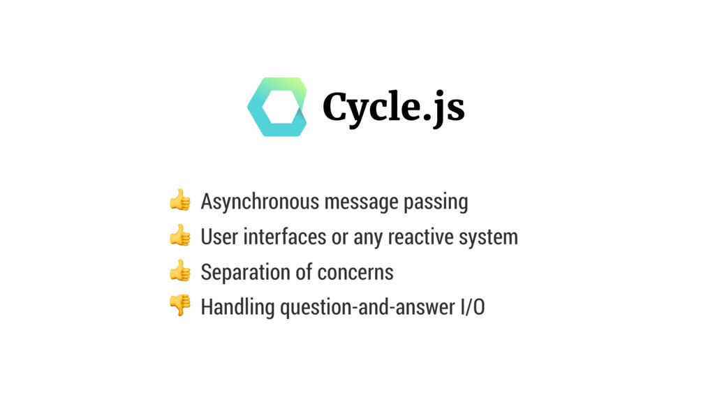 Asynchronous message passing  User interfaces ...