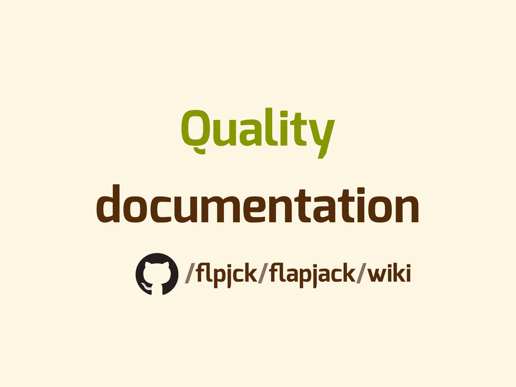 Quality documentation github.com/flpjck/flapjack/...
