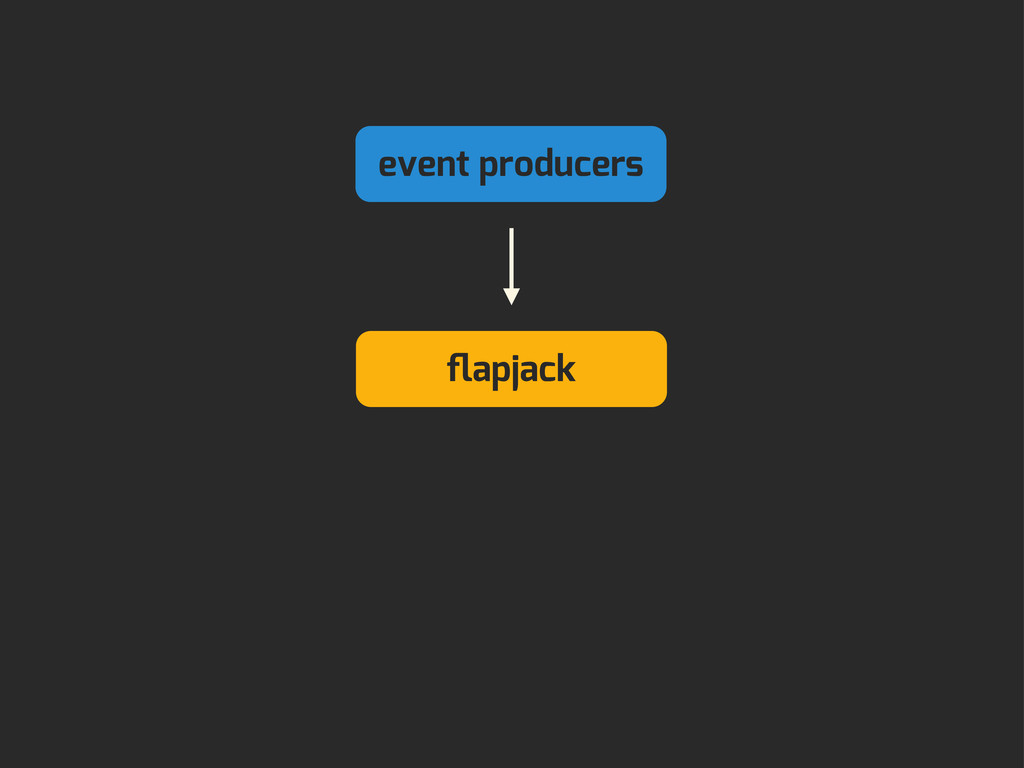 event producers flapjack