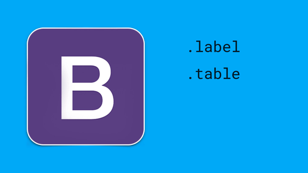 .label .table