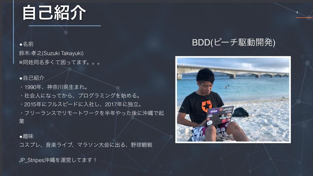 4 ࣗݾհ ◆໊લ ླ ೭(Suzuki Takayuki) ※ಉಉ໊ଟͯ͘ࠔͬͯ·͢...