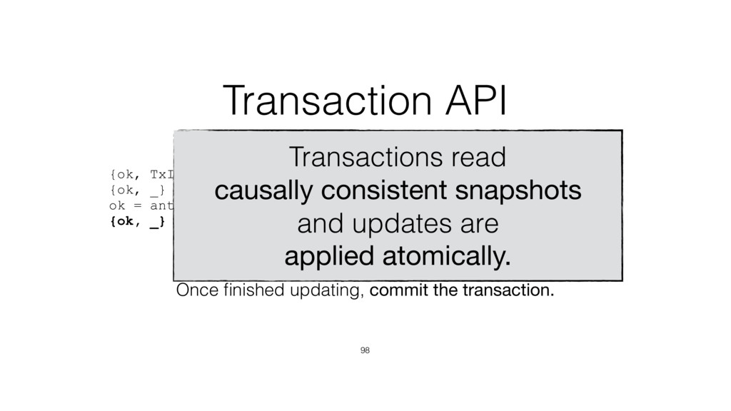 {ok, TxId} = antidote:start_transaction(Timesta...