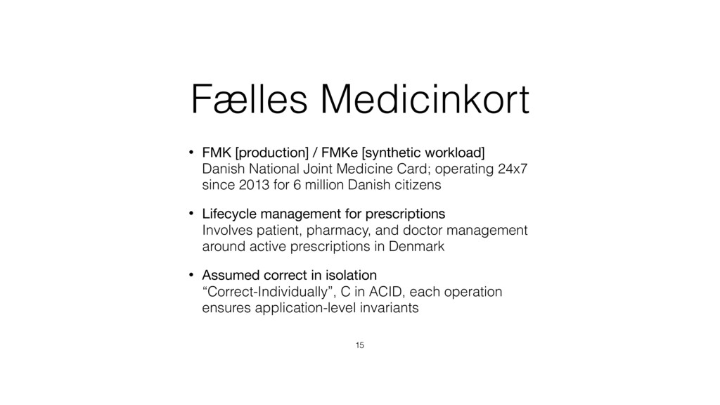 Fælles Medicinkort • FMK [production] / FMKe [s...