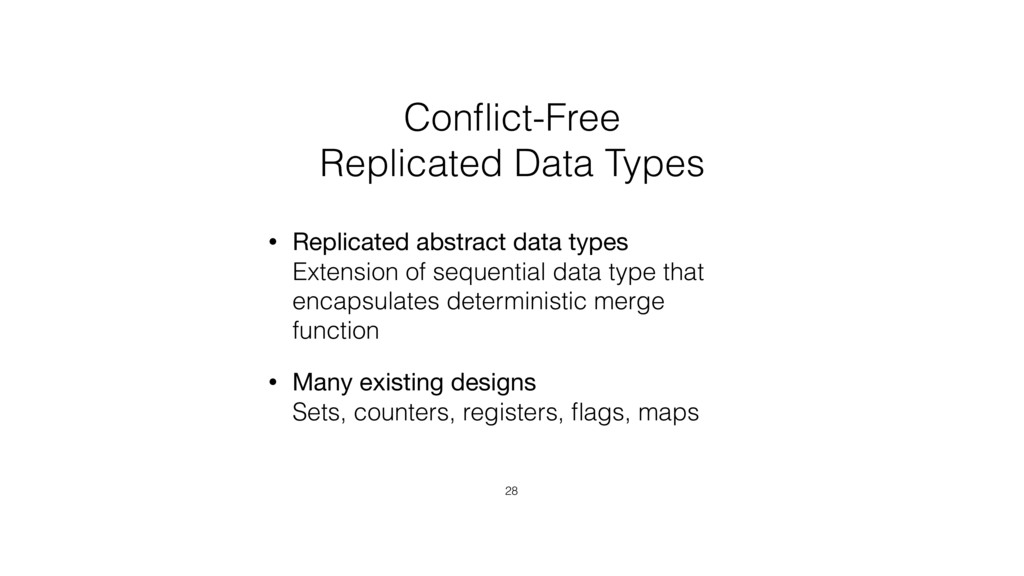 Conflict-Free 