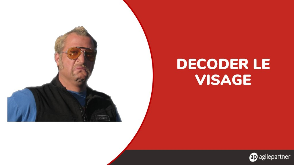 DECODER LE VISAGE