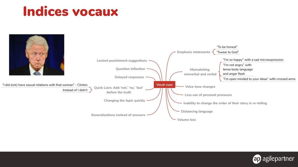 Indices vocaux