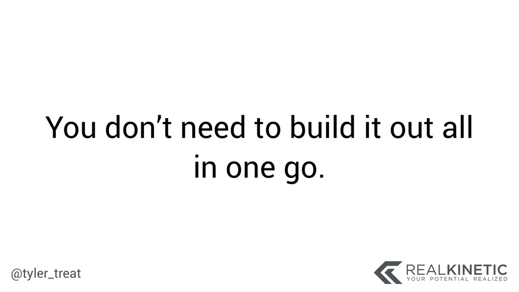 @tyler_treat You don't need to build it out all...