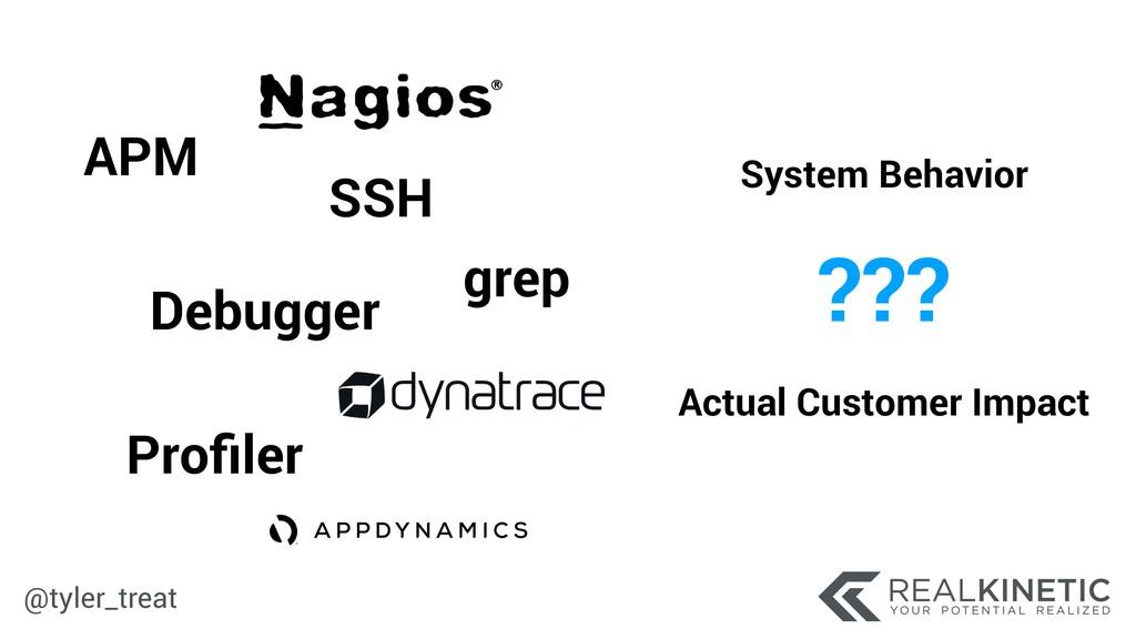 @tyler_treat APM Debugger Profiler SSH System Be...