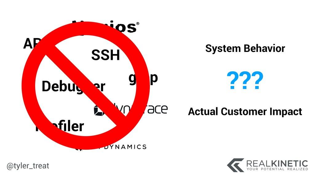 @tyler_treat grep APM Debugger Profiler SSH Syst...