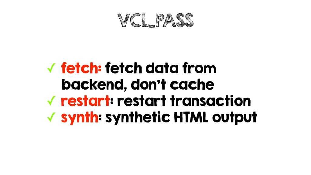 ✓ fetch: fetch data from backend, don't cache ✓...
