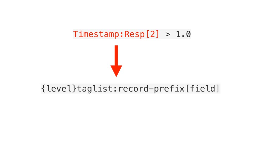 Timestamp:Resp[2] > 1.0 {level}taglist:record-p...