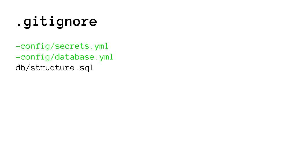 .gitignore -config/secrets.yml -config/database...