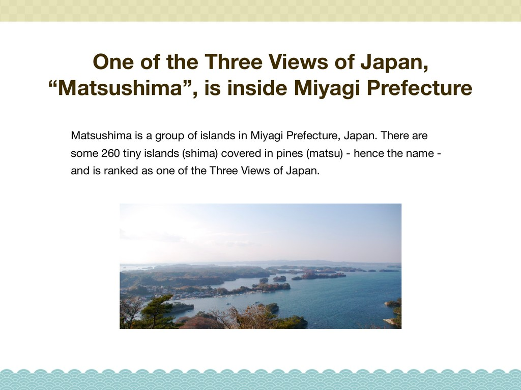"One of the Three Views of Japan, ""Matsushima"", ..."
