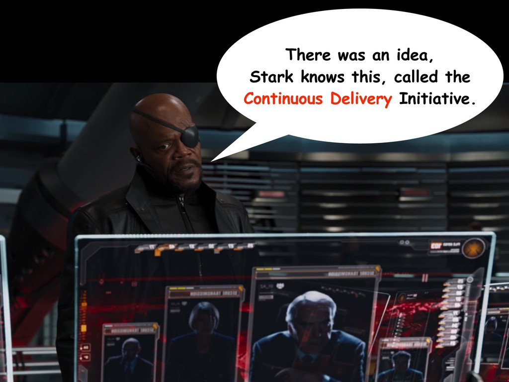 There was an idea, Stark knows this, called the...