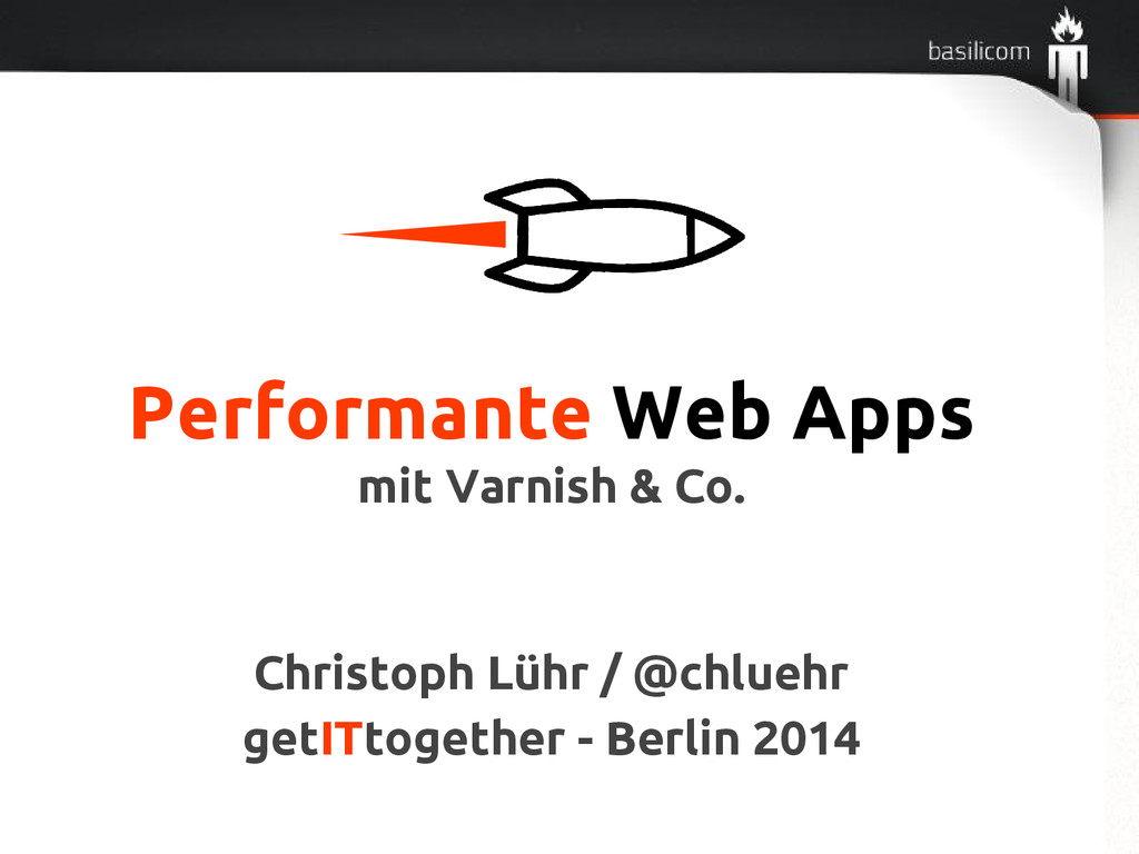 Performante Web Apps mit Varnish & Co. Christop...
