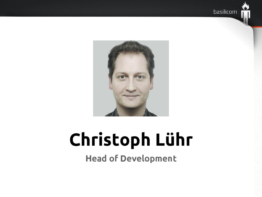 Christoph Lühr Head of Development