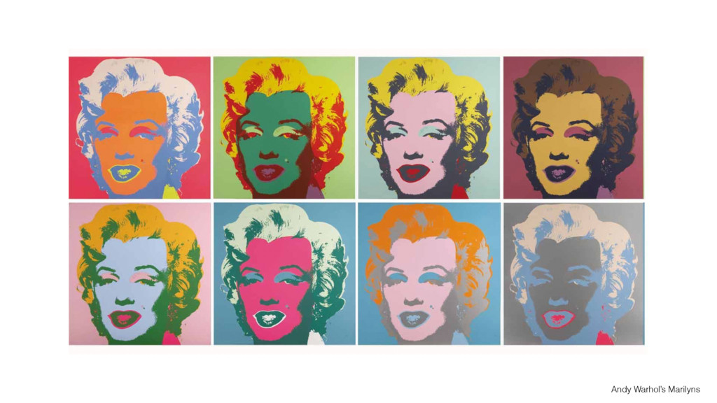 Andy Warhol's Marilyns