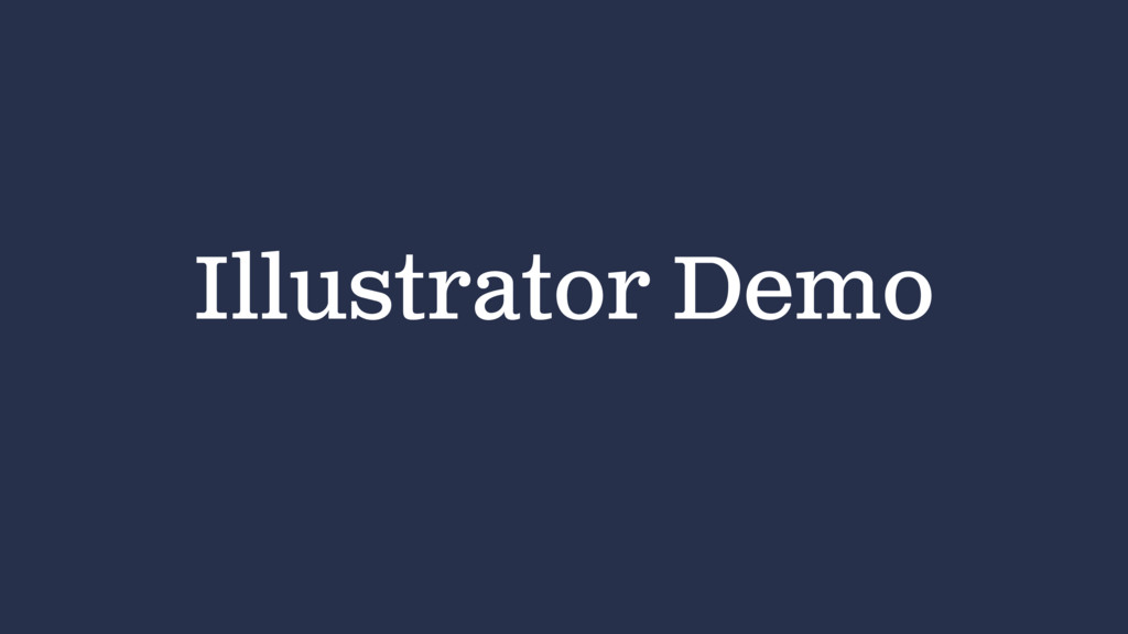 Illustrator Demo