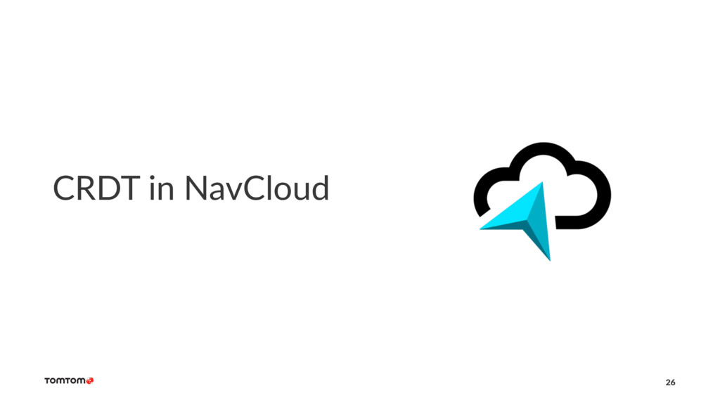 CRDT in NavCloud 26