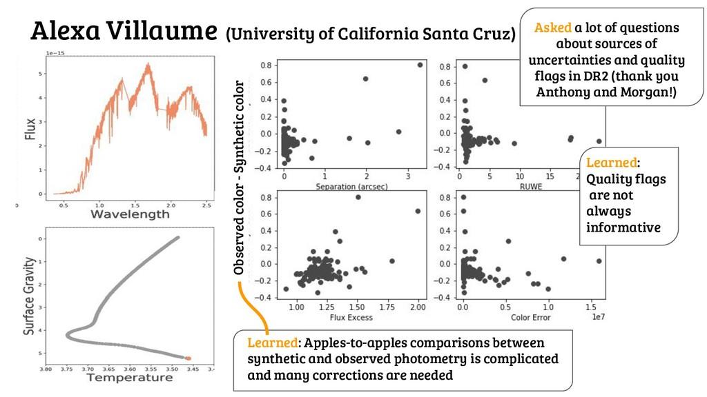 Alexa Villaume (University of California Santa ...