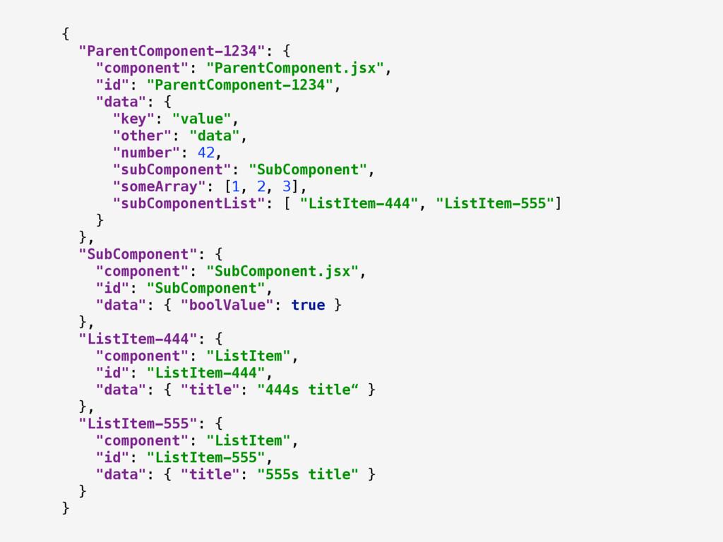 """{ """"ParentComponent-1234"""": { """"component"""": """"Par..."""