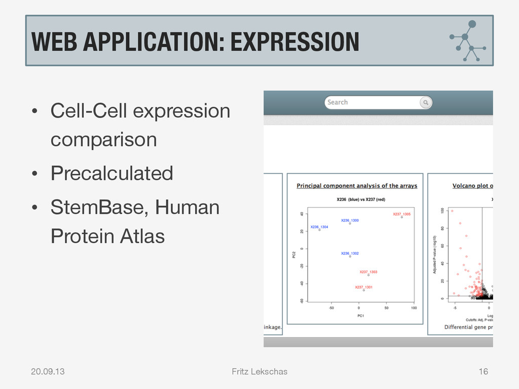 WEB APPLICATION: EXPRESSION